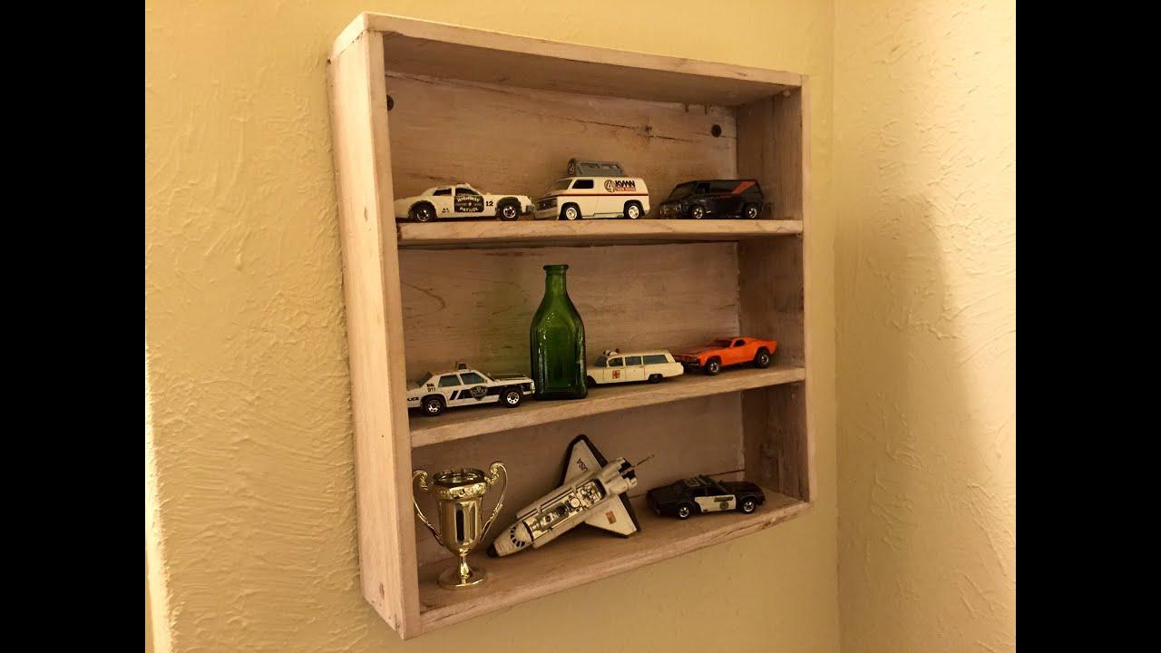 003 pallet wood simple shelf youtube
