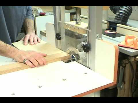Part 2 - MLCS Woodworking Horizontal Router Table - YouTube