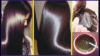 Natural Brown Hair Dye 100% Homemade With Simple Ingredients   Beauty Tips In Urdu