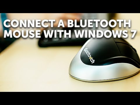 36a3eeae8ff How to pair your Bluetooth Mouse in Windows 7 - YouTube