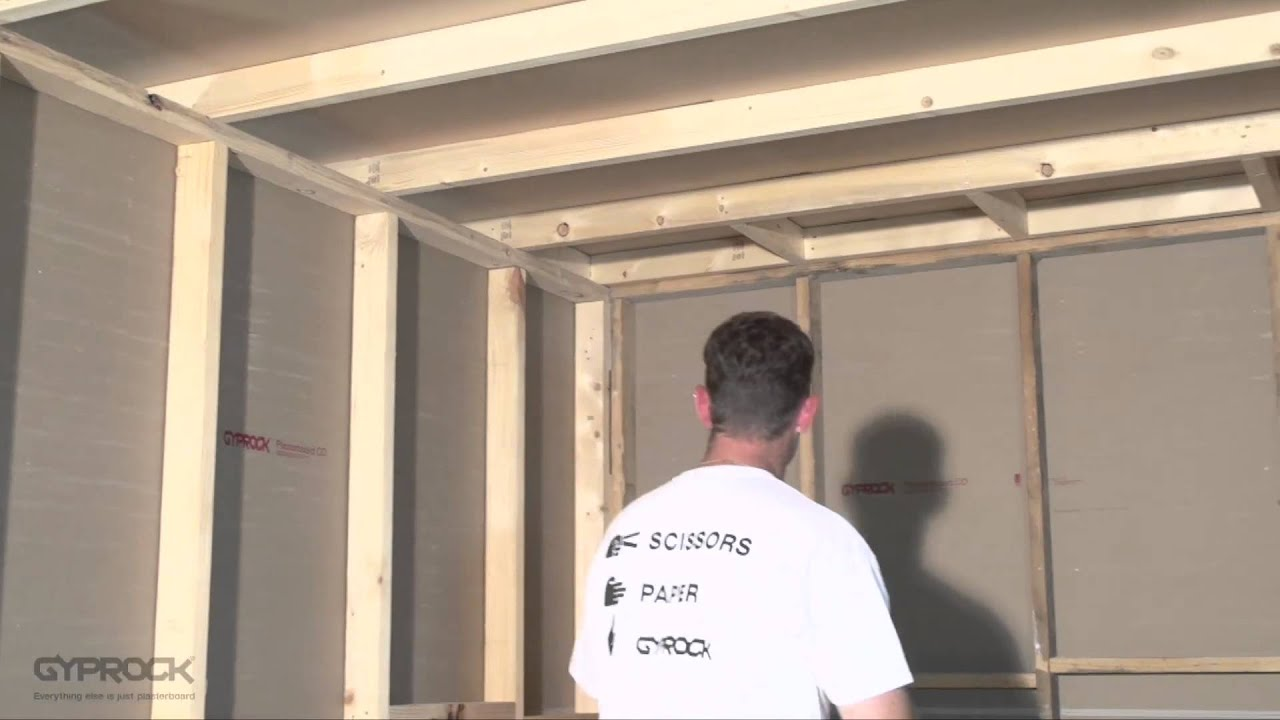 installing gyprock plasterboard - how to plan, prepare and measure