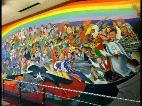 Denver murals international airport colorado doovi for Denver mural conspiracy