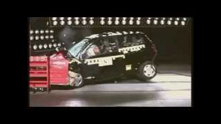 Crash test Toyota Yaris 2000