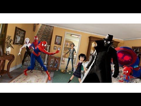 本邦初公開!6人のスパイダーマンが勢ぞろい 映画『スパイダーマン:スパイダーバース』本編特別映像