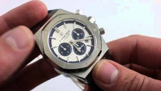 Audemars Piguet Royal Oak Pride of Italy Limited Edition 26326ST.OO.D02C Luxury Watch Review