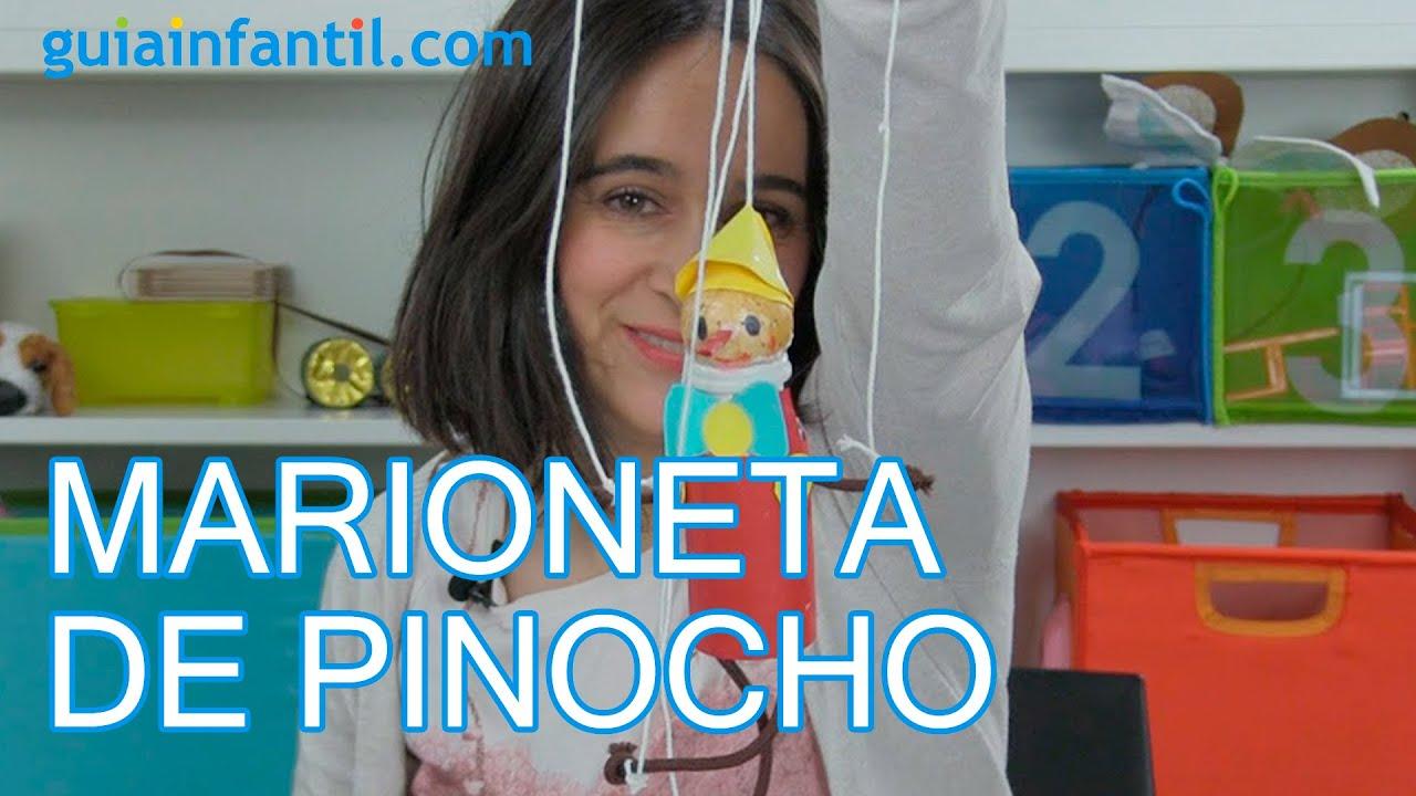 C mo hacer una marioneta de pinocho para los ni os youtube for Como hacer una laguna