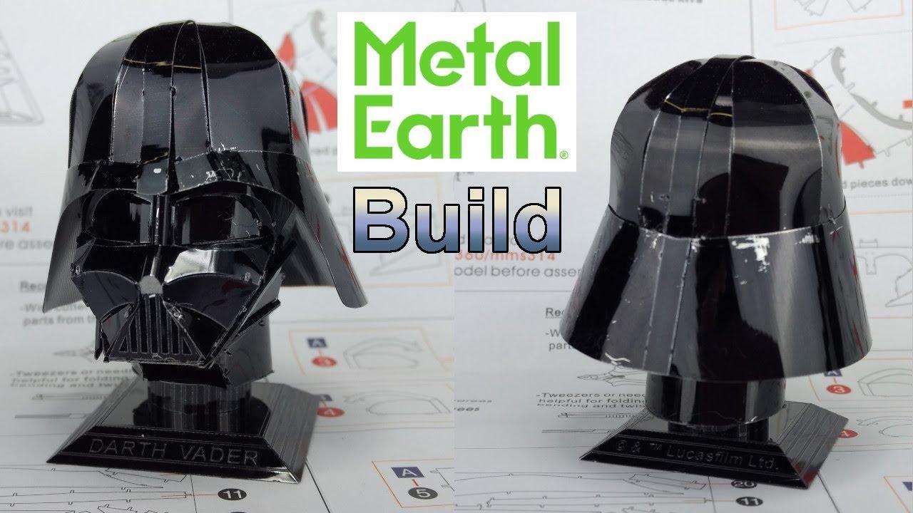 053d6e454 Metal Earth Build - Darth Vader s Helmet - Star Wars - YouTube