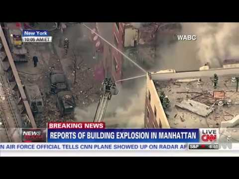 Breaking News: Buildings Collapse After Explosion, Fire In East Harlem
