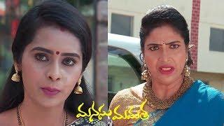 Manasu Mamata Serial Promo 12th November 2019 Manasu Mamata Telugu Serial