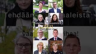 Tehdään kuntavaaleista 2021 #vaalitilmanvihaa!