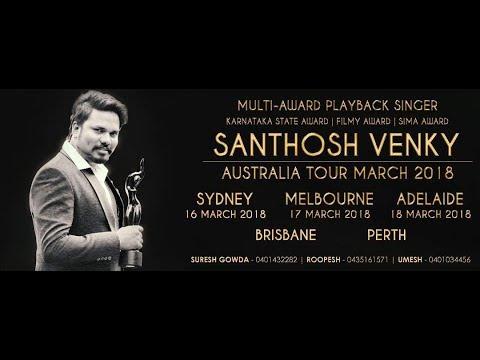 Santhosh Venky Promo Video Melbourne 2018