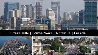 Brazzaville - Pointe-Noire - Libreville - Luanda / Congo, Gabon, Angola / Central Africa