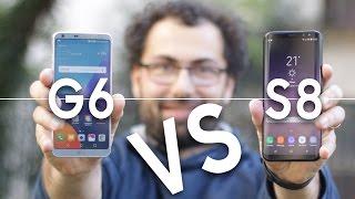 CONFRONTO Galaxy S8 vs LG G6: è SFIDA tra Samsung ed LG