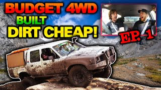 CHEAP HILUX TO OFFROAD WEAPON for under $5000   Budget Build 4WD Part 1