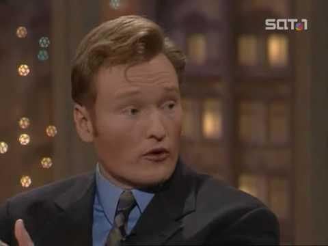 Harald Schmidt Show - 21.10.1997 - Conan O'Brien