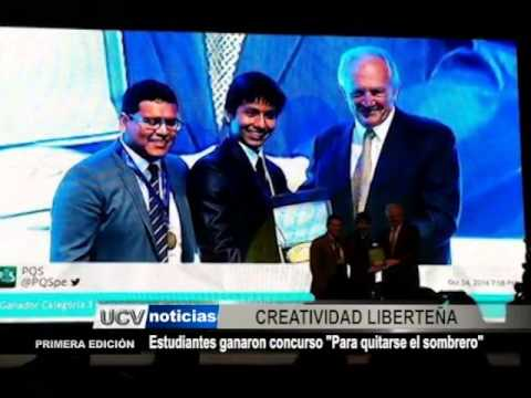 """Estudiantes ganaron concurso """"Para quitarse el sombrero"""" - YouTube c99d41a8a65"""
