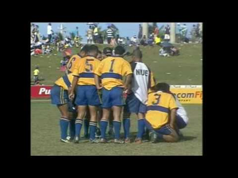 South Pacific Games 2003 Rugby 7s  New Caledonia vs Niue M11