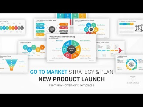 New Product Launch Go To Market Plan And Strategy Powerpoint