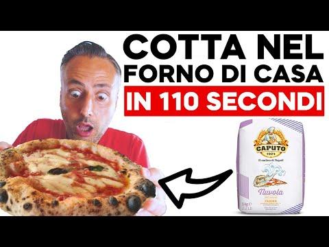 Pizza napoletana facile con farina Caputo Nuvola cotta in 2 minuti!
