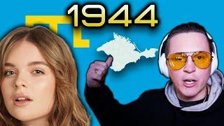 Where is the HUMANITY?   ELINA IVASCHENKO (Элина Иващенко) VOICE UKRAINE - 1944- REACTION