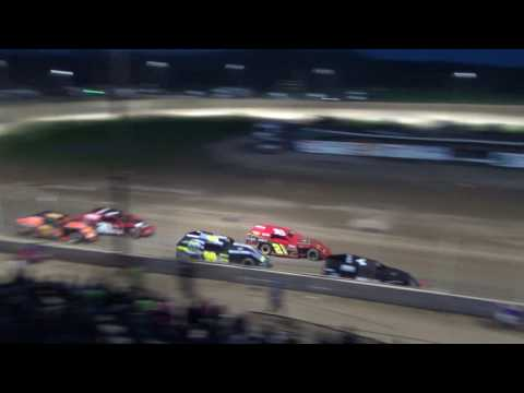8. I.M.C.A. Heat Race #1 at Crystal Motor Speedway, 04-15-17