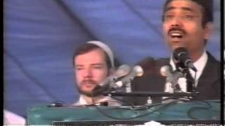 Urdu Nazm ~ Nishan Ko Dekh Ker (Jalsa Salana UK 1989)