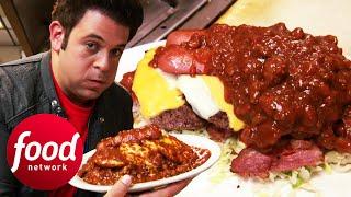 Download Adam Wrestles To Finish 6.5 Lbs Jonny B Good Challenge | Man v Food Mp3 and Videos