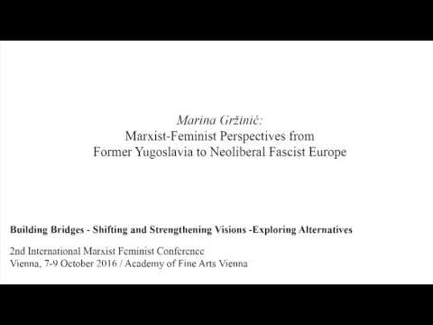 Marina Gržinić: Marxist-Feminist Perspectives from Former Yugoslavia to Neoliberal Fascist Europe