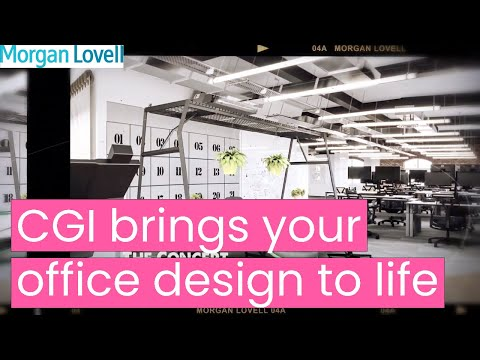 CGI brings your office design to life