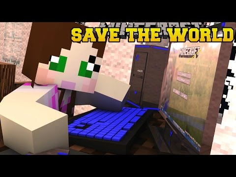 Thumbnail: Minecraft: ESCAPE TO SAVE THE WORLD! - ANTI-APOCALYPSE AGENCY - Custom Map [3]