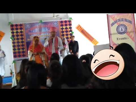 Download Best Bride and Groom competition..||Udalguri College||..