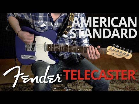 Fender American Standard Telecaster® Demo | Fender