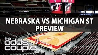 NCAA Basketball Picks | Nebraska vs Michigan St | Can The Spartans Bounce Back?