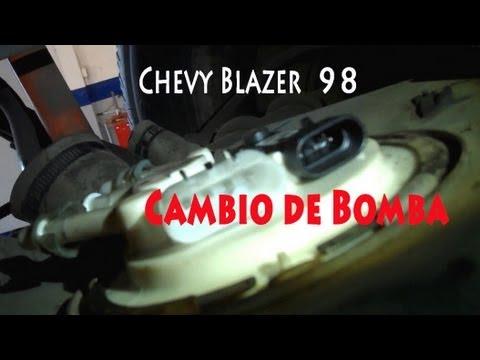 Chevy Blazer 98 Cambio De Bomba