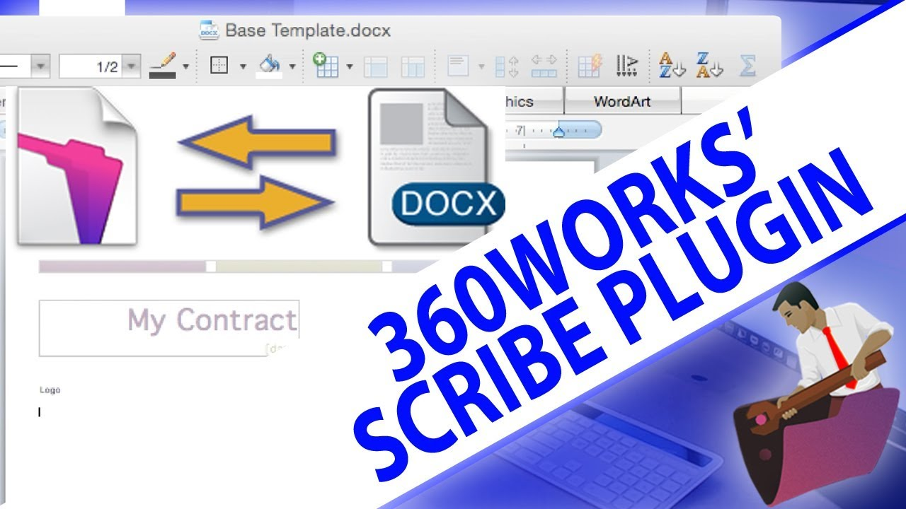 Connecting FileMaker to Word,Excel,PDFs-FileMaker Plugin-360Works  Scribe-FileMaker Plugin Training