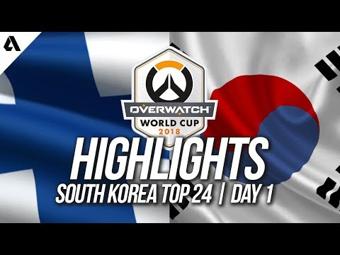 Finland vs South Korea   Overwatch World Cup 2018 Incheon Qualifier Day 1