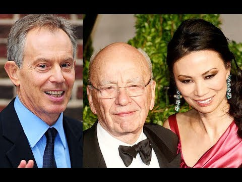Tony Blair Banged Rupert Murdoch's Wife:Everything You Need to Know in 3 Minutes