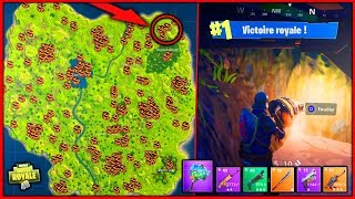 FAIRE TOP1 SANS CHEAT FORTNITE avec CETTE CARTE SECRÈTE ! - Fortnite Battle Royal