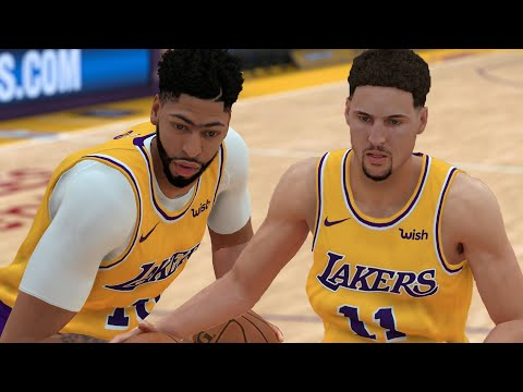 Anthony Davis & Klay Thompson Sign To The Los Angeles Lakers! | NBA 2K19