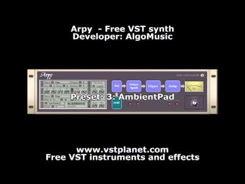 Arpy (2003) - Free VST synth