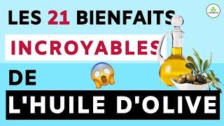 HUILE D'OLIVE: SES BIENFAITS ET VERTUS POUR LA SANTE