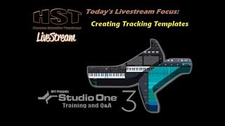 HST LiveStream - Creating Tracking Templates