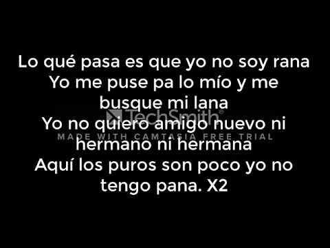 Download No Soy Rana - Jc La Nevula (Letra)