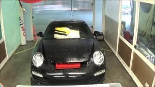 2009 Porsche Full Hood Install Part I - Auto Shield Columbia SC Greenville SC