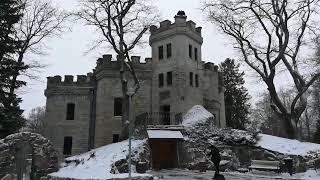 Замок Глена, место съемок фильма «Собака Баскервилей»