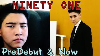 NINETY ONE - PREDEBUT vs NOW. Before & After