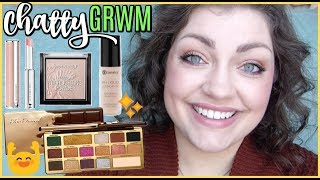 Chatty Get Ready With Me #19 | Too Faced Chocolate GOLD Eyeshadow Palette (& a few other things!)
