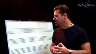 Teoria Músical - Introdução A Partitura - Cordas E Música - Aul.14/t.m.