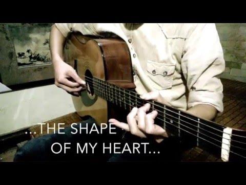 The Shape Of My Heart (Backstreet Boys) - Guitar solo