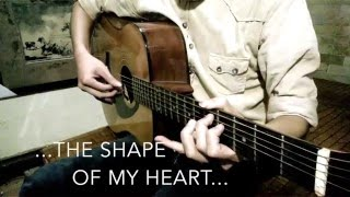 The Shape Of My Heart (Backstreet Boys) - Guitar solo